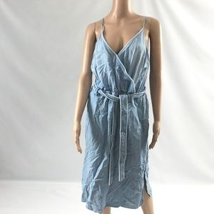 Anthropologie Women's Spaghetti Strap Jeans Dress